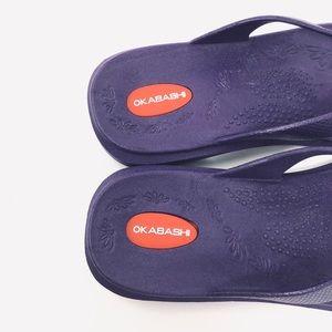 Okabashi Shoes - Okabashi | Maui Flip Flops Purple 8-9 ML